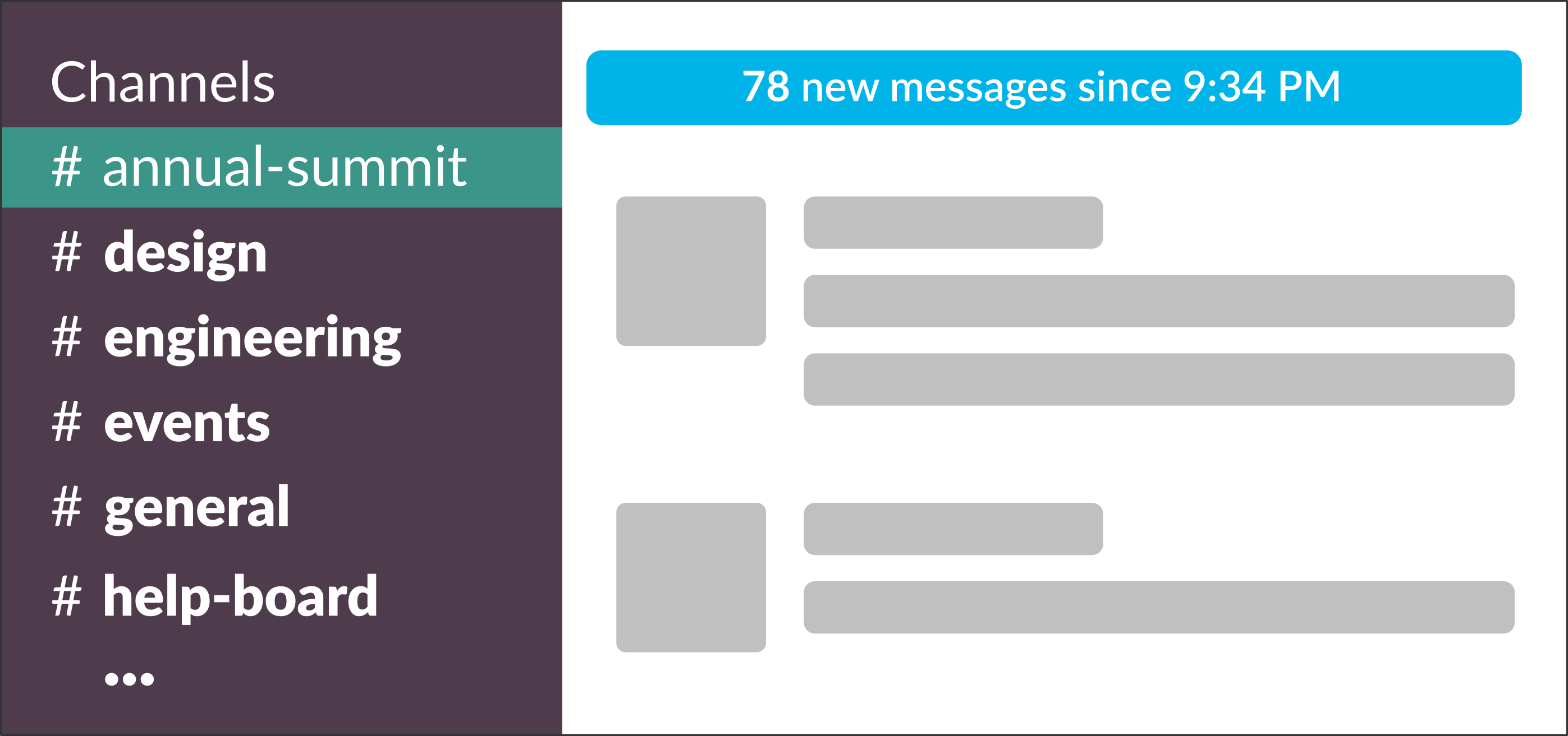 bcd3ad6598a62f The lack of organization and context in Slack channels means that anyone  using Slack heavily has to manually scan through hundreds of messages a day  to find ...